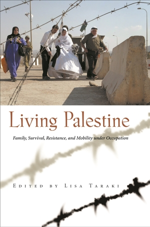 Cover for the book: Living Palestine