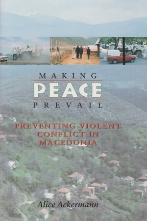 Cover for the book: Making Peace Prevail
