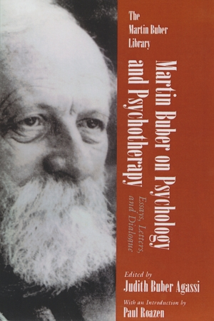 Cover for the book: Martin Buber on Psychology and Psychotherapy