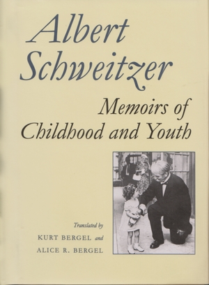 Cover for the book: Memoirs of Childhood and Youth