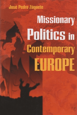 Cover for the book: Missionary Politics in Contemporary Europe