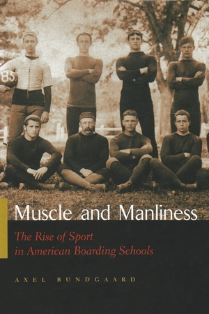 Cover for the book: Muscle and Manliness