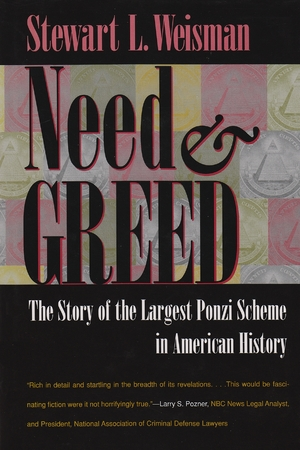 Cover for the book: Need and Greed