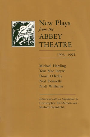 Cover for the book: New Plays from the Abbey Theatre