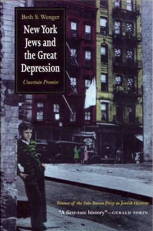 Cover for the book: New York Jews and Great Depression