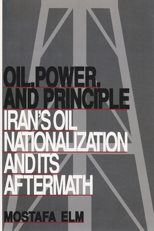 Cover for the book: Oil, Power, and Principle