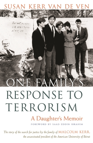 Cover for the book: One Family's Response to Terrorism