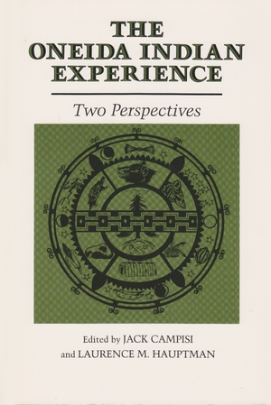Cover for the book: Oneida Indian Experience, The