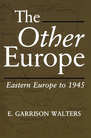 Cover for the book: Other Europe, The
