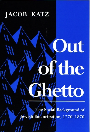 Cover for the book: Out of the Ghetto