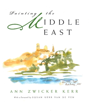 Cover for the book: Painting the Middle East