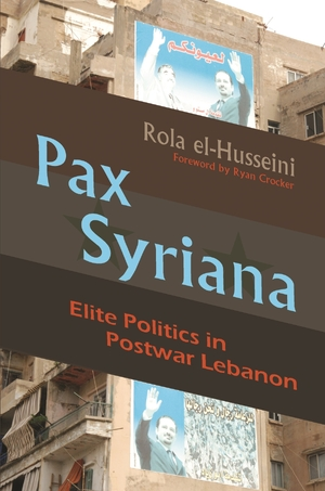 Cover for the book: Pax Syriana