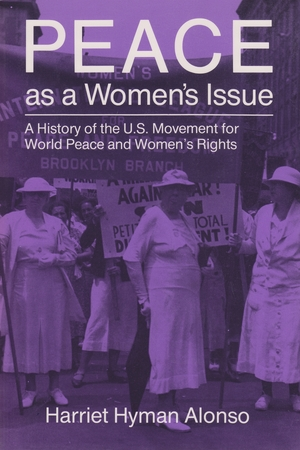 Cover for the book: Peace as a Woman's Issue