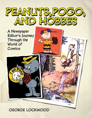 Cover for the book: Peanuts, Pogo, and Hobbes