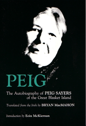Cover for the book: Peig
