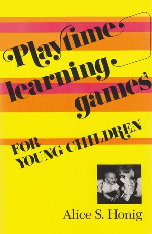Cover for the book: Playtime Learning Games for Young  Children
