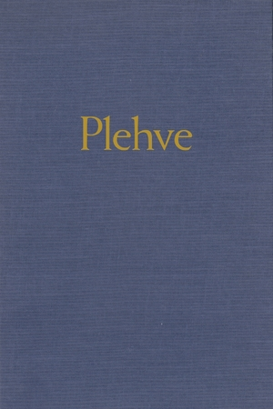 Cover for the book: Plehve