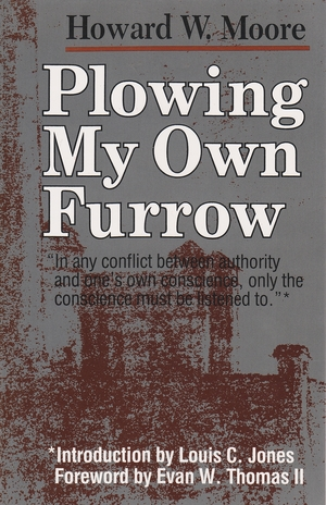 Cover for the book: Plowing My Own Furrow