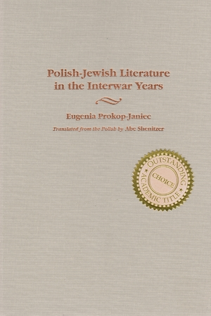 Cover for the book: Polish-Jewish Literature in the Interwar Years