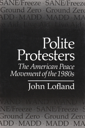 Cover for the book: Polite Protesters