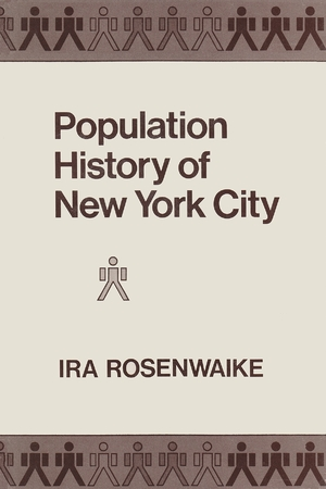 Cover for the book: Population History in New York City