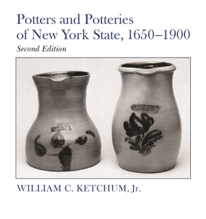 Cover for the book: Potters and Potteries of New York State, 1650-1900