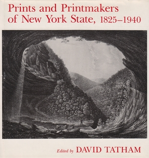 Cover for the book: Prints and Printmakers of New York State, 1825-1940