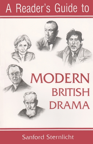 Cover for the book: Reader's Guide to Modern British Drama, A