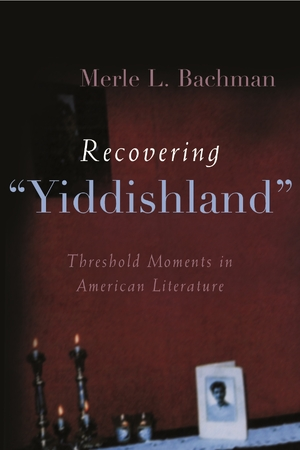 "Cover for the book: Recovering ""Yiddishland"""