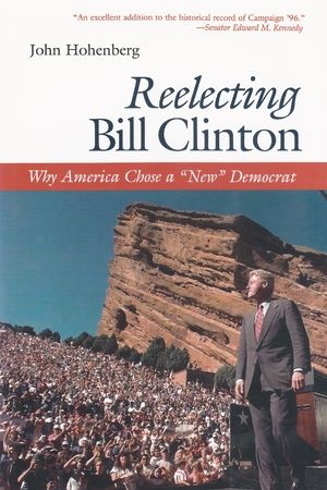 Cover for the book: Reelecting Bill Clinton