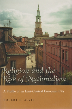Cover for the book: Religion and the Rise of Nationalism