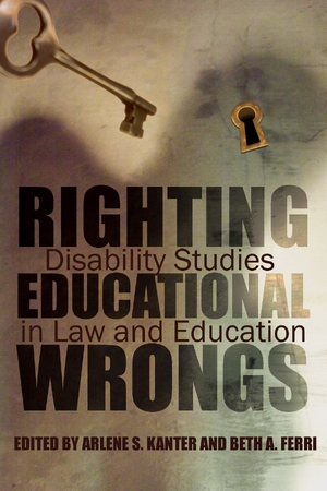 Cover for the book: Righting Educational Wrongs