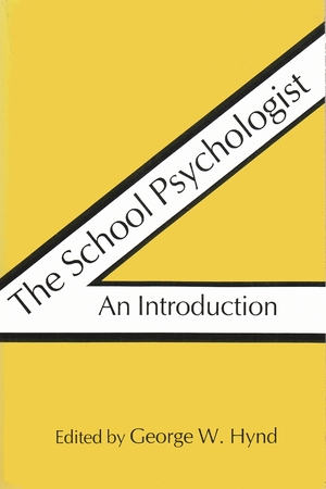 Cover for the book: School Psychologist, The