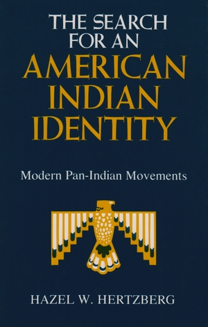 Cover for the book: Search for an American Indian Identity, The