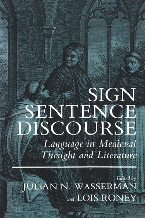 Cover for the book: Sign, Sentence, Discourse