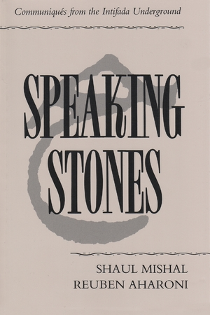 Cover for the book: Speaking Stones