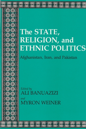 Cover for the book: State, Religion, and Ethnic Politics, The