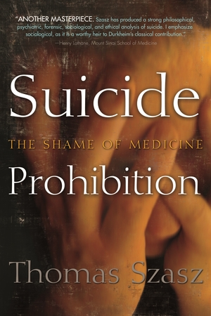 Cover for the book: Suicide Prohibition