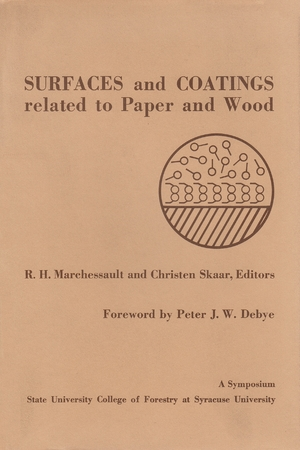 Cover for the book: Surfaces and Coatings related to Paper and Wood