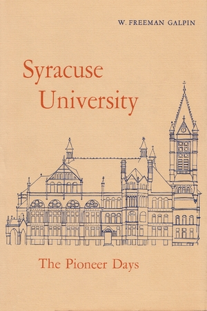Cover for the book: Syracuse University