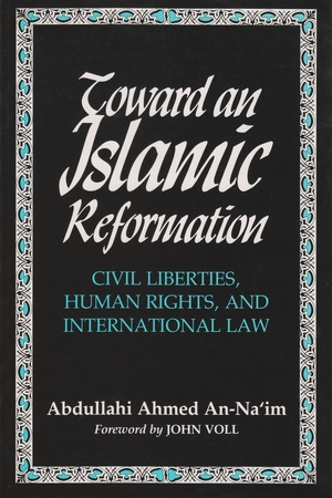 Cover for the book: Toward an Islamic Reformation
