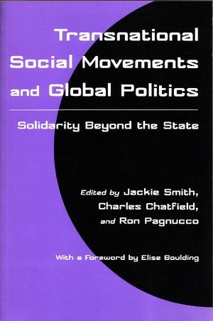 Cover for the book: Transnational Social Movements and Global Politics