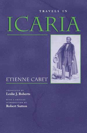 Cover for the book: Travels in Icaria