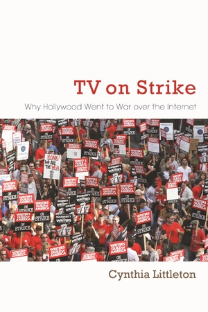 Cover for the book: TV on Strike