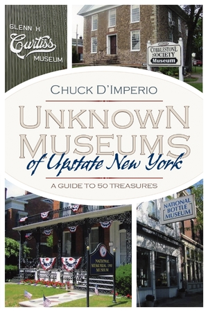 Cover for the book: Unknown Museums of Upstate New York