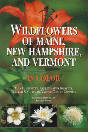 Cover for the book: Wildflowers of Maine, New Hampshire, and Vermont in Color