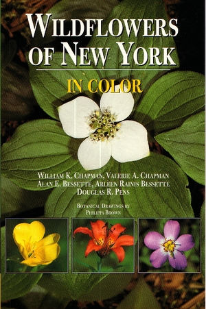 Cover for the book: Wildflowers of New York in Color