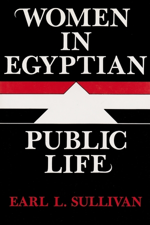Cover for the book: Women in Egyptian Public Life