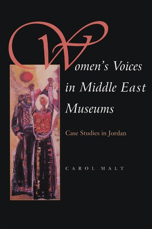 Cover for the book: Women's Voices in Middle East Museums