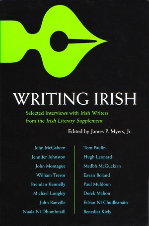 Cover for the book: Writing Irish